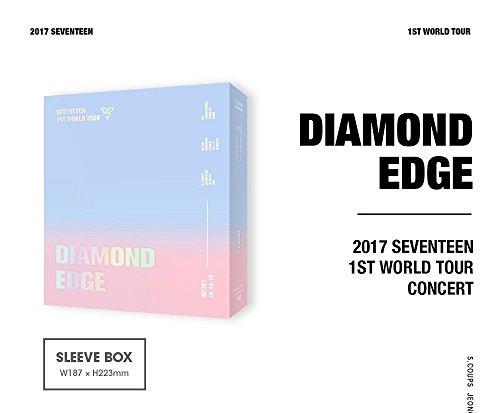 SEVENTEEN - 2017 SEVENTEEN 1ST WORLD TOUR DIAMOND EDGE IN SEOUL CONCERT DVD 3Disc+Photobook+Goods+Free Gift
