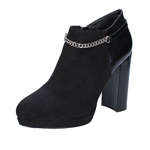EU Boots Womens Black GAUDI 40 Suede Ankle qPw58ZZ4I