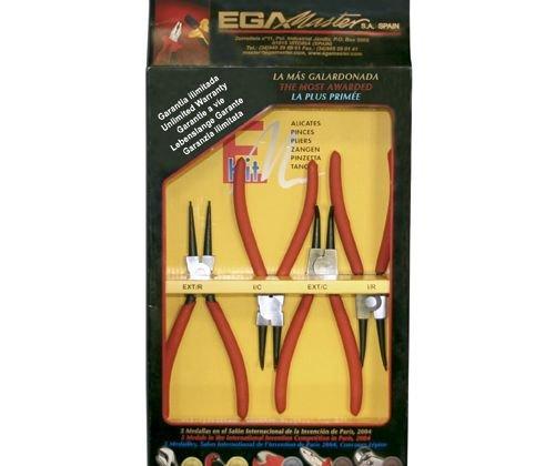 Ega Master - Juegos 4 Alicates Circlips 6' 68540