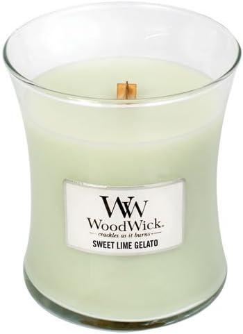 WoodWick at The Beach Pluswick Medium Hourglass Candle 10 oz.