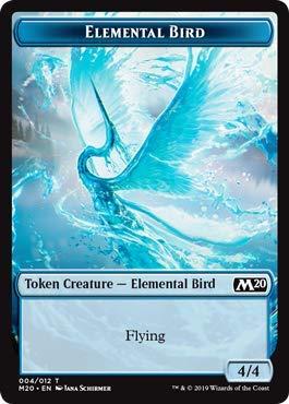 Magic: The Gathering - Elemental Bird Token - Core Set 2020
