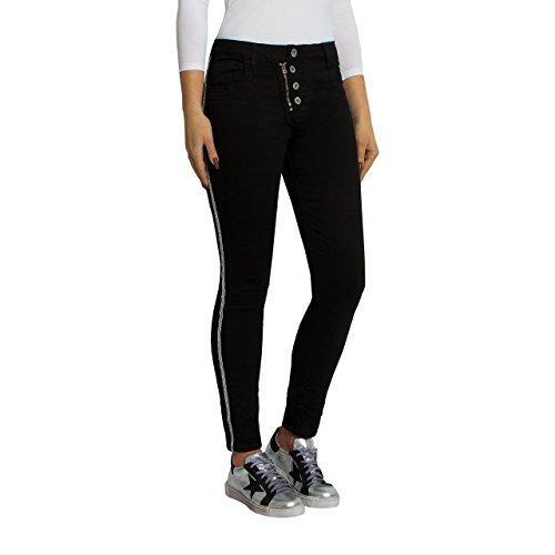 SKUTARI - Jeans - Femme - Noir - W34