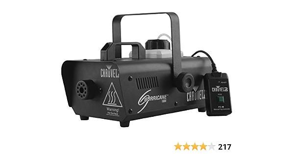 CHAUVET DJ Hurricane 1600 Pro Fog Smoke Machine w// Remotes H1600 Fog Fluid
