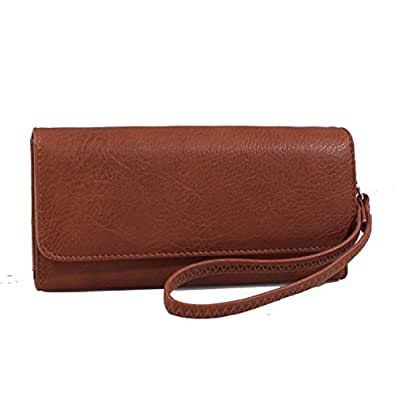 Mylux® Connection Close-Out High Quality Women Girl Shoulder Bag 120885 (Matching wallet-Brown)