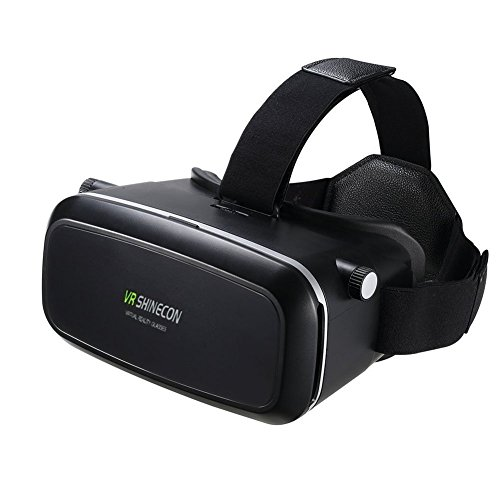 (VR Headset Glasses Virtual Reality Mobile Phone 3D Movies for iPhone 6S/6 plus/6/5S/5C/5 Samsung Galaxy S5/S6/note4/note5 )
