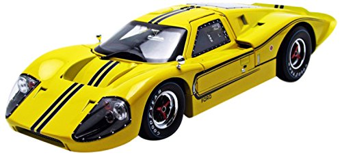 1967 Ford GT MK IV Gelb 1/18 by Shelby Collectibles SC422 by Shelby Collect
