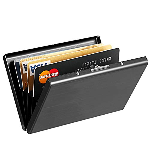 Best RFID Blocking Credit Card Holder, MaxGear™ Stainless