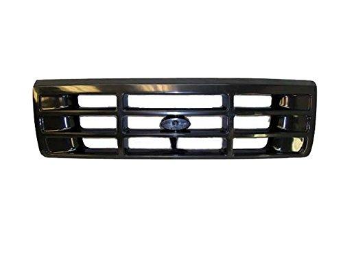 Bundle 1992-1996 F150 F250 F350 92-96 Bronco Grille Headlight Door Bezel Painted