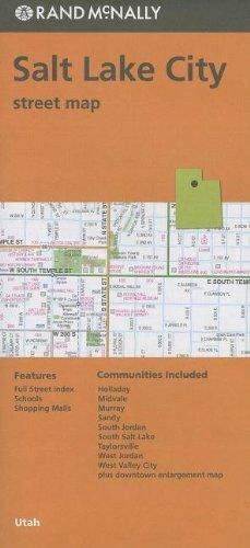 Rand McNally Folded Map: Salt Lake City by Rand McNally - City Salt Lake Shopping Malls