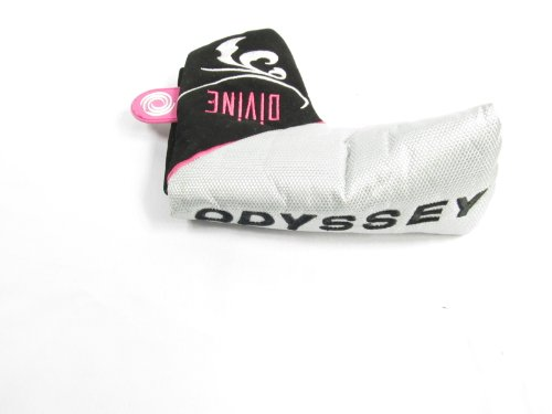 NEW Odyssey Ladies Divine Pink BLADE Putter Headcover MAGNETIC