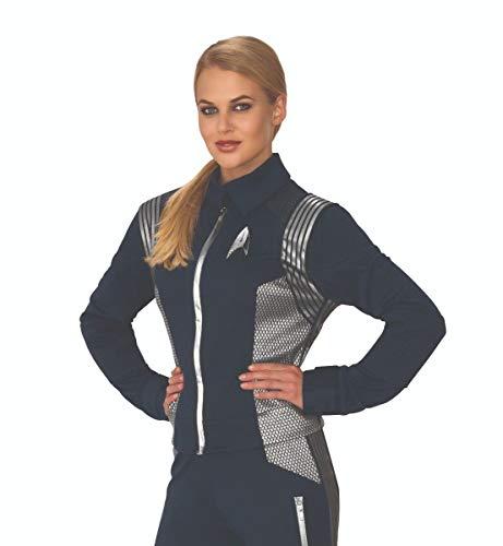 (Rubie's Women's Star Trek Discovery Science Uniform Adult Costume Jacket, Large)