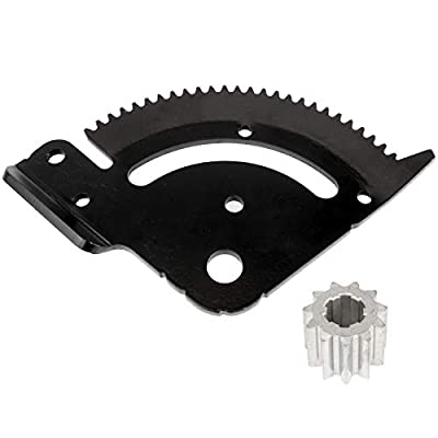 Caltric Steering Plate Gear for John Deere D160 D170 X105 X115R X125 X135R X155R X165: Automotive