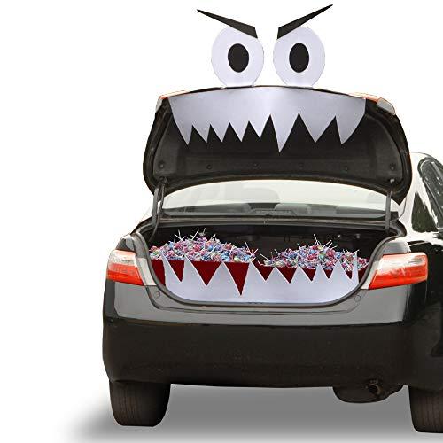 CC Christmas Decor Tricky or Treat Mean Streak Halloween Car Kit -