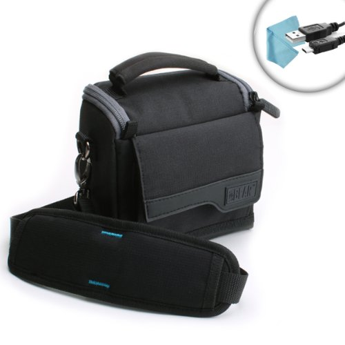 Compact Camera Travel Holster Bag with Shoulder Sling , Dura