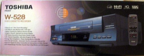 Toshiba W-528 4-Head Hi-Fi Video Cassette Recorder