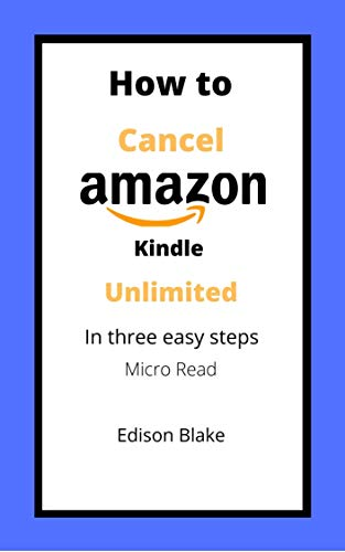 You have Kindle Unlimited and want to cancel!   Life is busy and searching a website to find out how to cancel a subscription takes valuable time.   With this Micro book you will be able to cancel Kindle Unlimited in three easy to follow steps and...