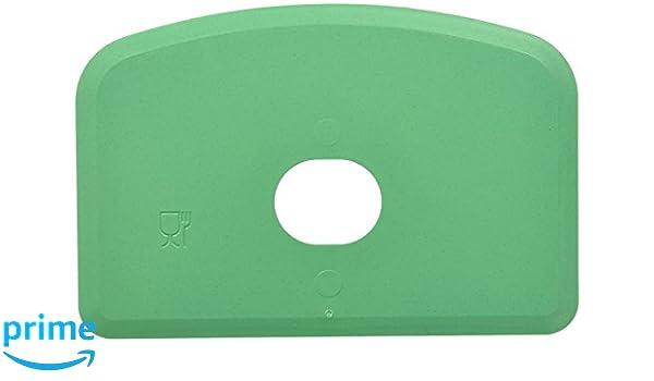 Maya 71910 - Espátula Flexible Detectable y Rayos X, con Agujero, 146 x 98 x 1,65 mm, Verde: Amazon.es: Industria, empresas y ciencia