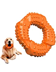 Feeko Dog Toys for Aggressive Chewers Large Breed, Natural Rubber Long Lasting Dog Toy, Toughest Puppy Chew Toy for Small Medium Large Dogs - Fun to Chew, Dental Care, Training, Teething