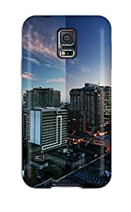 High Quality Toronto Reflections Canada Case For Galaxy S5 / Perfect Case