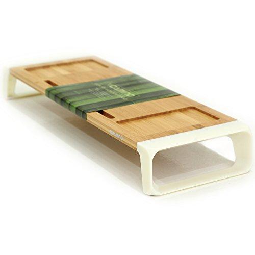 CAMINO MONITOR STANDS M01 | Eco-friendly Bamboo sturdy Board | Modern Design
