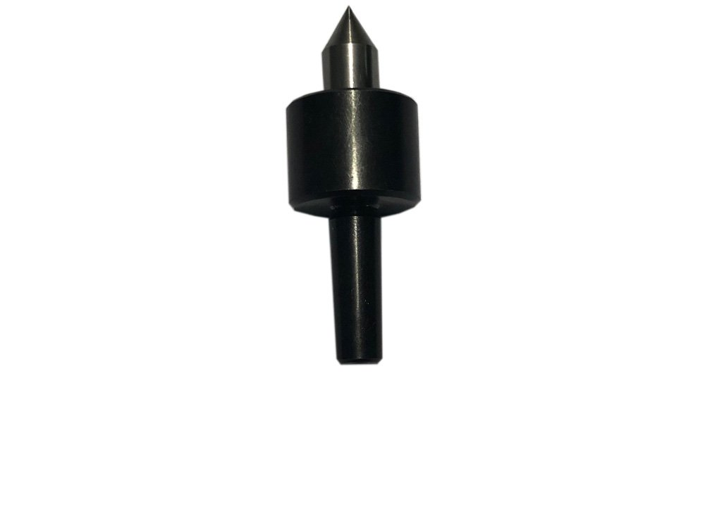 Mini Lathe Live Revolving Center MT1 Shank Triple Bearing Precision