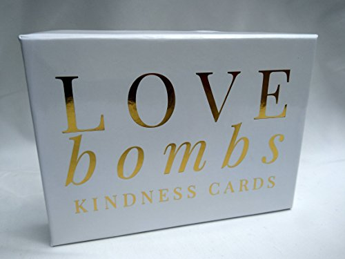 Encouragement Gift (Love Bombs - 111 Gold Embossed Kindness Cards, Sincere Words of Appreciation, Compliments, Gratitude, Admiration & Encouragement to Strengthen Relationships & Overcome Shyness & Insecurity)