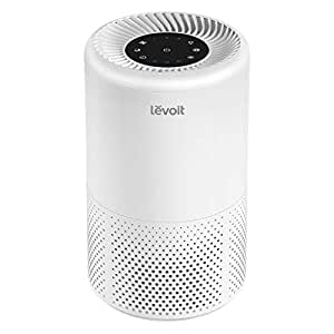 LEVOIT Air Purifier for Home Allergies and Pets Hair, Smokers, True HEPA Filter, Quiet in Bedroom,Filtration System Cleaner Remover Eliminators, 99.97% Odor Smoke Dust Mold,Night Light&Timer,Vista 200