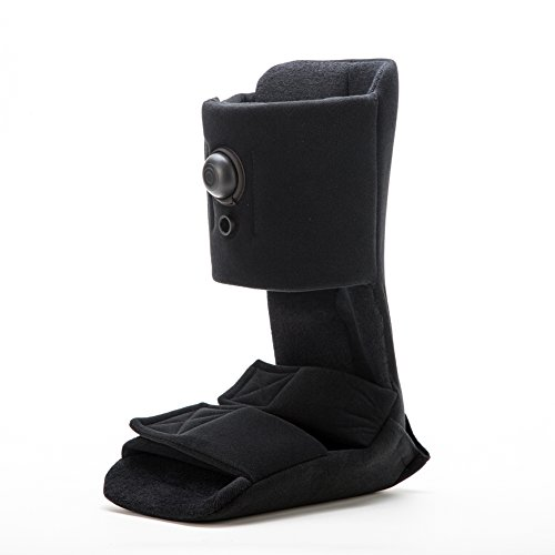 Plantar Fasciitis Night Splint, Adjustable Soft Medical Pneumatic Brace Boot for Pain Relief Black Large by Kefit (Image #7)