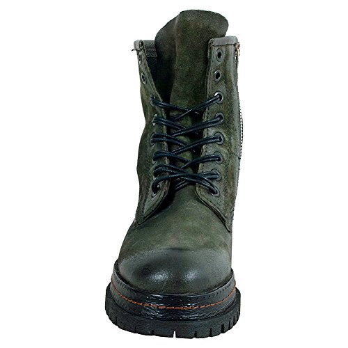 A.S.98 Lennie Womens Lace Up Boot Green h3Z8iH1kV