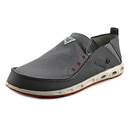 Men's Columbia Bahama Vent PFG Slip-on Boat Shoes, CITY GREY/GYPSY, 11.5D