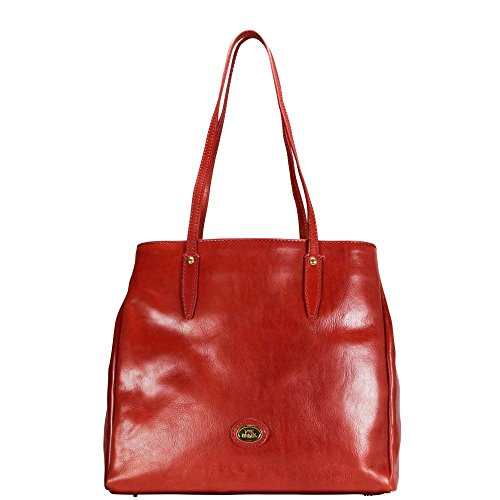 The Bridge Story mujer bolso totes piel 32 cm rosso ribes