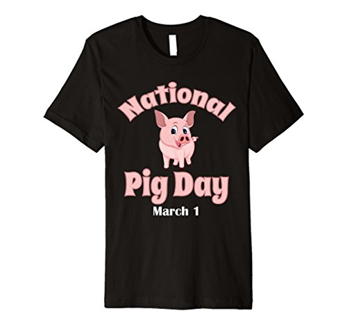 National Pig Day March One Lover Farmer T Shirt