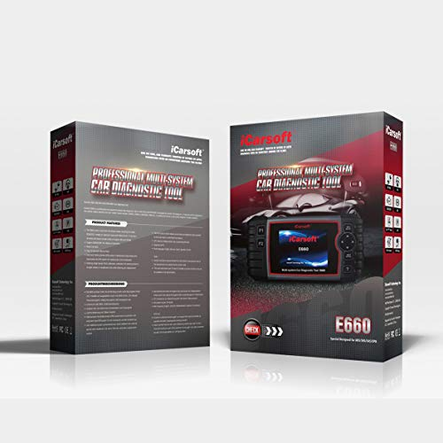 iCarsoft E660 ABS+SRS+SAS+EPB+OBD II Diagnostic Tool by iCarsoft (Image #1)