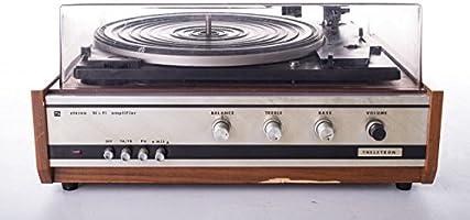 Tocadiscos estéreo Dual 1210 productor Theletron 70 años de madera ...
