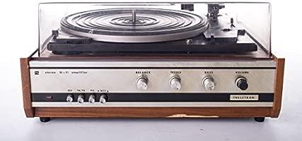 Tocadiscos estéreo Dual 1210 productor Theletron 70 años de ...