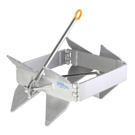 Slide Anchor Box Anchor for Boats, Offshore, Small,Silver