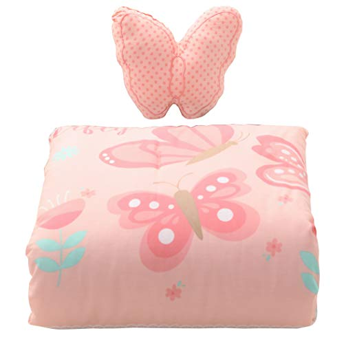 Cuddles & Cribs Nursery Bedding Crib in a Bag - 2 Piece, Butterfly ()