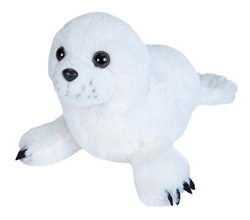 (Wild Republic Harp Seal Pup Plush, Stuffed Animal, Plush Toy, Gifts for Kids, Cuddlekins 8 Inches )