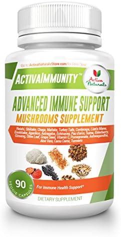 Activa Naturals Supplement Comprehensive Mushrooms product image