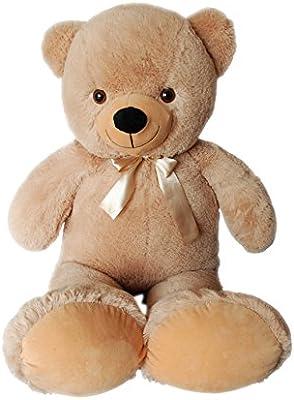 Vercart oso de peluche gigante 50 – 200 cm Grande Oso de peluche Peluche gigante aterciopelado, suave – para abrazarlo. Talla:100CM