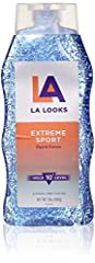 Sport Activity Proof Power Gel mega X-Treme Hold 10+ by L.A. Looks for Unisex - 20 oz Gel