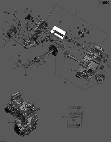 Can-Am 2013-2015 Maverick 1000 Commander 1000 Shift Drum Assembly 420657232 New Oem