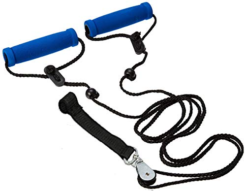 Physical Therapy Pulley - BodyHealt Overhead Shoulder Pulley - Overdoor Pulley with Large Foam Grip for Optimal Comfort- Simple Yet Effective Exercise Tool for Upper Body Toning, Rehab, Physical Therapy & Fitness Aid - (Strap)