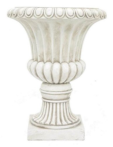 Urn Planter in Ivory by Benzara