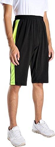 Pantaloncini Sports Pantaloni Casuale Uomo Jeansian Sweatpants Della Sportivo Lss158 Lss139 Rapida greenyellowline Tuta Asciugatura Zn48Fzf