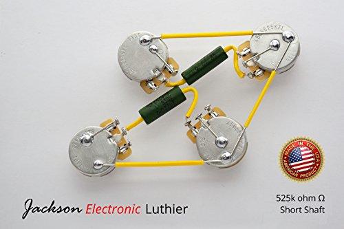 les paul wiring harness kit russian k42u2 paper pio caps  015uf neck/ 022