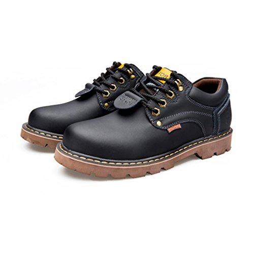レースアップシューズ メンズ ショットブーツ 靴 大きいサイズ ビッグサイズ カジュアルシューズ ウォーキングシューズ コンフォート 屈曲性抜群 衝撃吸収 通勤 発表式 黒 イエロー ライトブラウン ダークブラウン