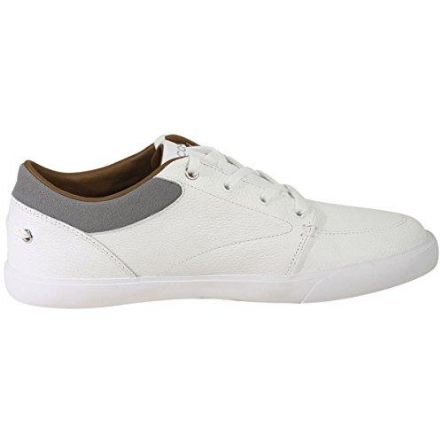 Lacoste Mens Bayliss 118 1 U Sneaker Bianco / Grigio