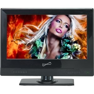 "Supersonic SC-1311 13.3"" 720p LED-LCD TV - 16:9 - HDTV - ATSC - 90Â¿ / 45Â¿ - 1366 x 768 - USB - SC-1311 by SUPERSONIC INC."