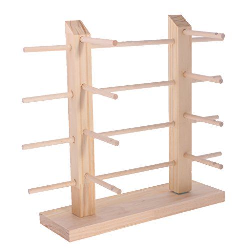 MonkeyJack 3/4/5 Layers 2-Row DIY Detachable Sunglasses Rack Holder Glasses Display Stand Shelf Counter Jewelry Display - 4 - Diy Sunglasses Rack